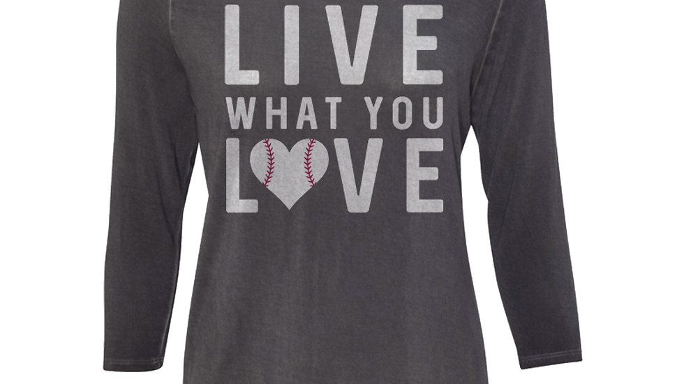 Live What You Love Oasis Wash 3/4 Tee