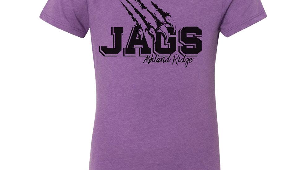 Girls Ashland Ridge Jags Claw Tee