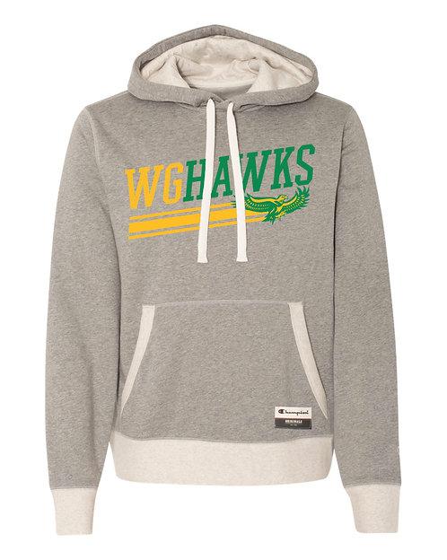WG Hawks Champion Sueded Hoodie