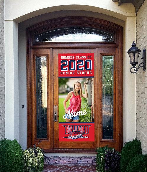 Senior Full Length Door Banner