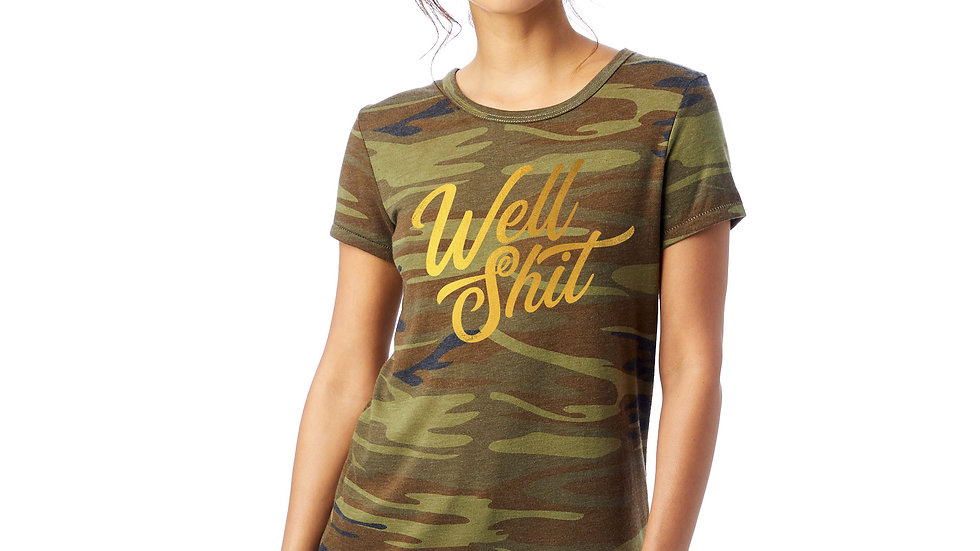 Well Sh*t Patterned Tee