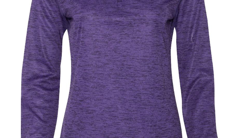 Womens Tonal Blend 1/4 Zip Pullover