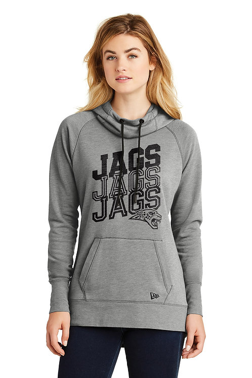 Womens Tri-Blend Fleece Hoodie