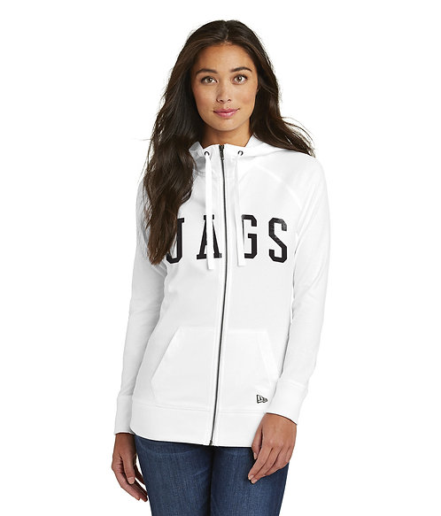 JAGS Ladies Sueded Full-Zip Hoodie