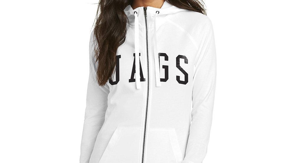 JAGS Ladies Sueded Full-Zip Hoodie