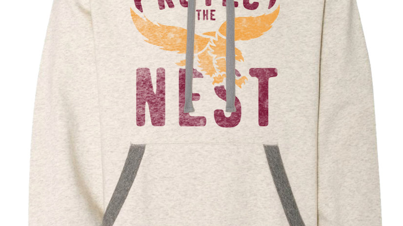 Protect the Nest Champion Sueded Hoodie