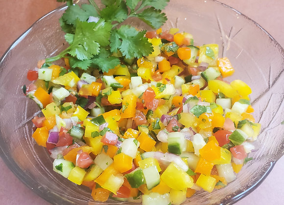 Raw Pepper Salad - Gar