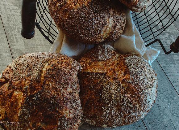 Artisan Wheat Bread - 3 C