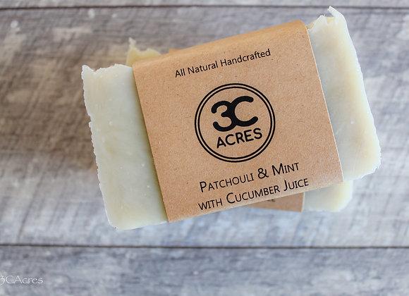 Patchouli & Mint with Cucumber Juice - 3 C