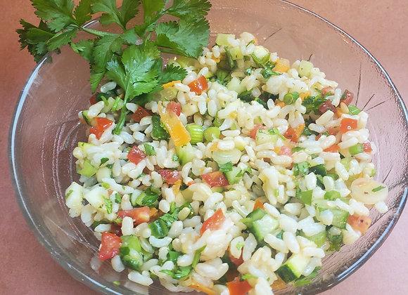 Veggie Brown Rice Salad (Large) - Gar