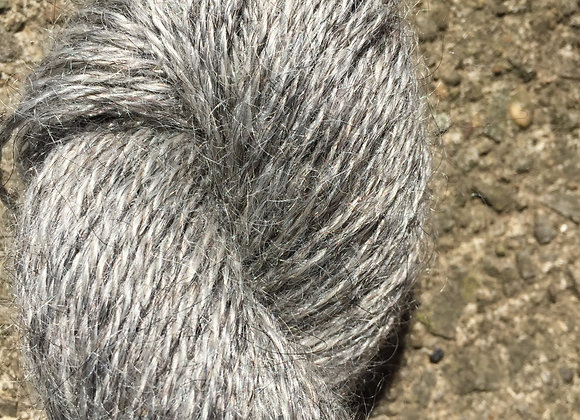 Yarn [Undyed Silver - Approx. 200 yards - 100% Mohair] - Und