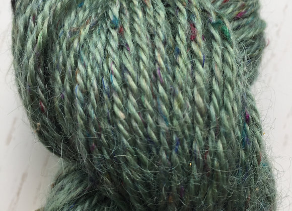 Yarn [Hunter  Speckled - 90%Wool / 10%Silk] - Und