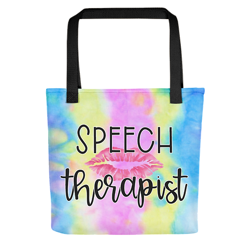 """""""To Dye For Collection"""" - Speech Therapist Tote"""
