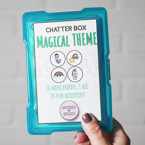 Chatter Box - Magical Theme