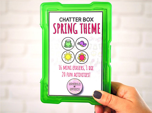 Chatter Box - Spring Theme