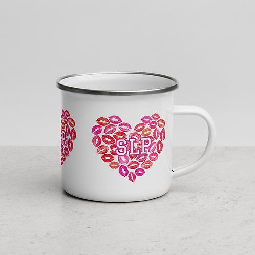 """Lip Love Collection"" - Enamel Mug"