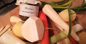 Soupe de légumes et pastina