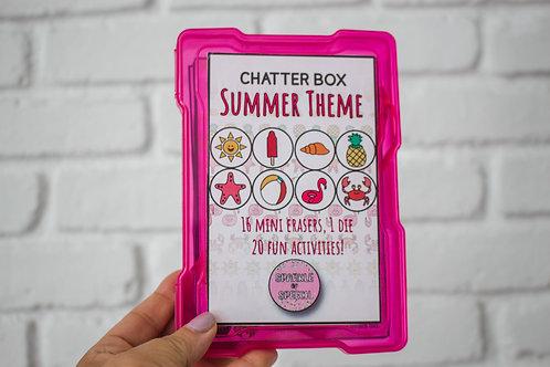 Chatter Box - Summer Theme