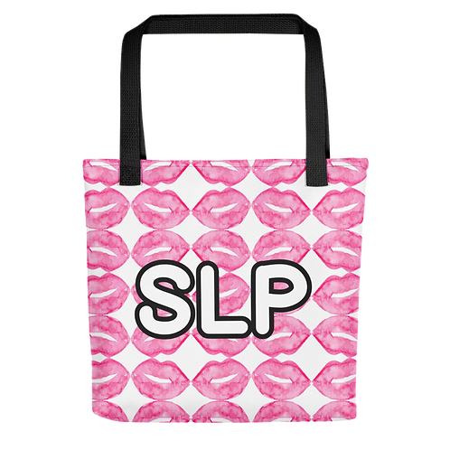 """""""Locked Lips"""" Collection - SLP Tote bag"""