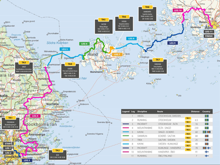 Race report Nordic Islands Adventure Race