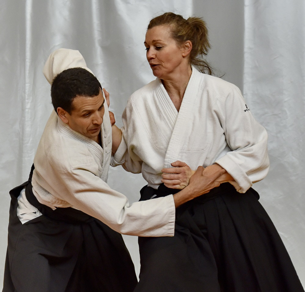 aikido women femmes cours mixtes