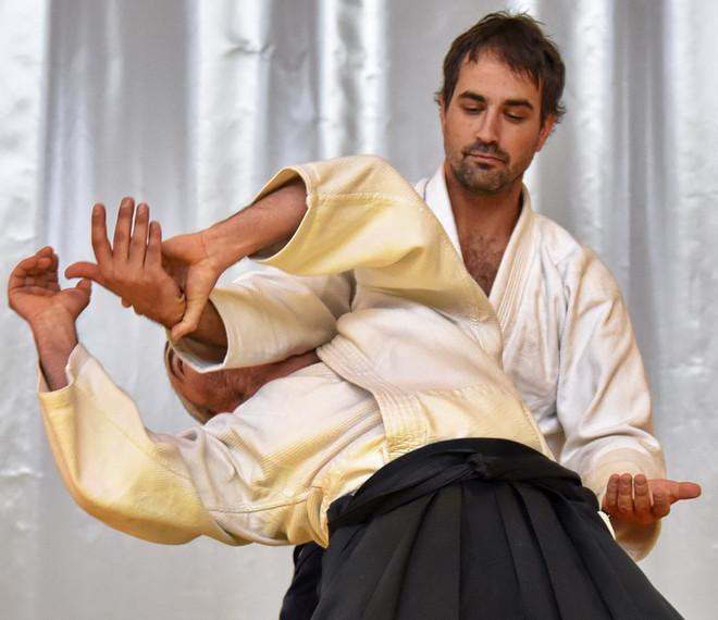 Eric Plamondon sensei expert aikido
