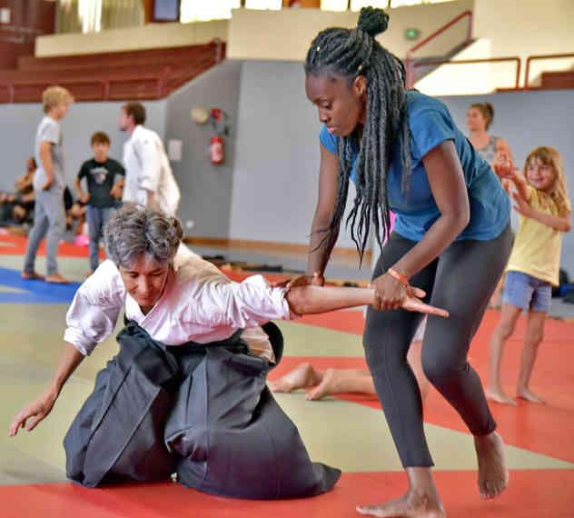 aikido montreal débutant beginner