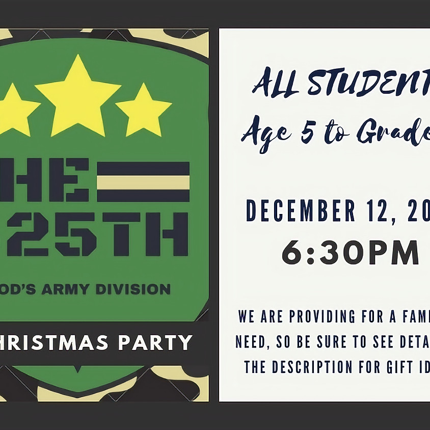 525th Christmas Party