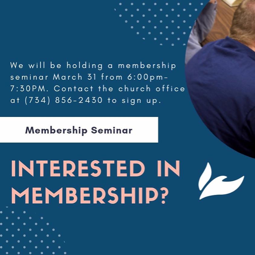 WWC Membership Seminar