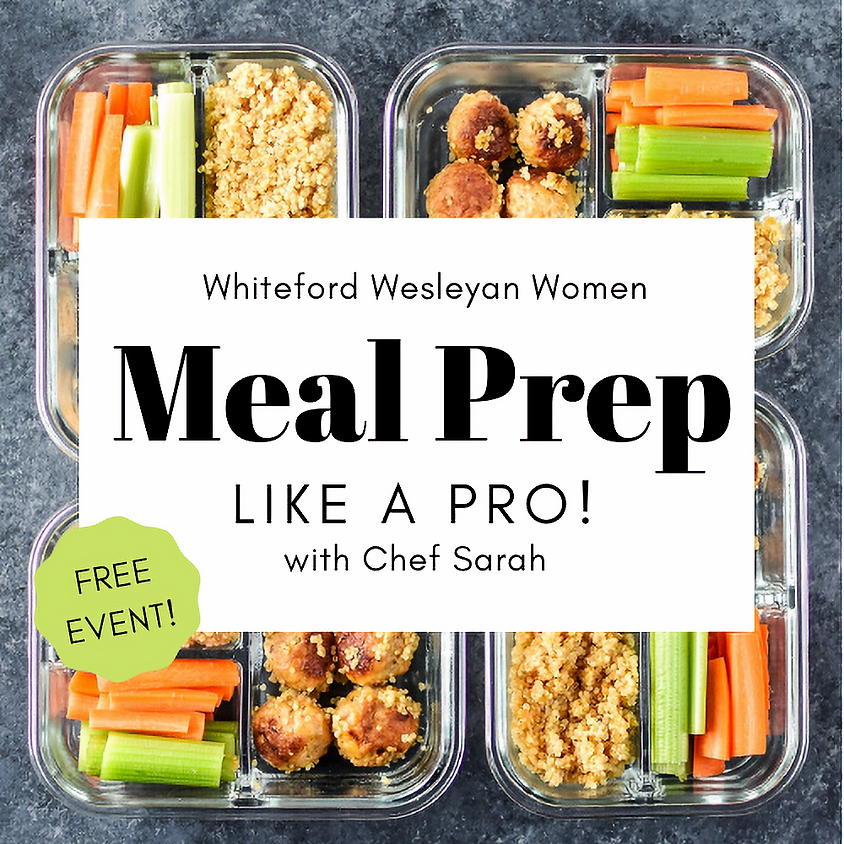 Ladies Time Out: Meal Prep Like a Pro