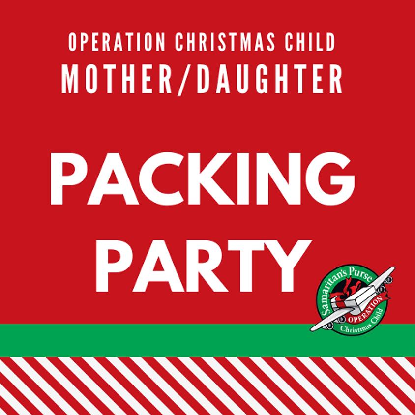 Operation Shoebox Packing Party