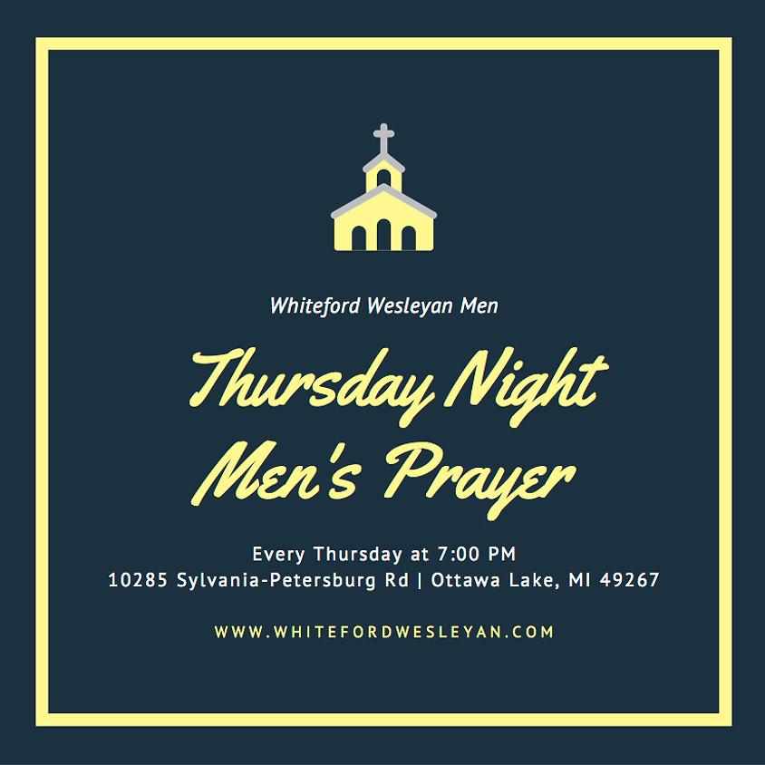 Thursday Night Men's Prayer