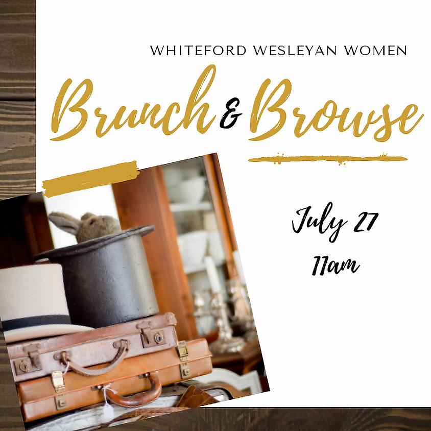 Brunch and Browse