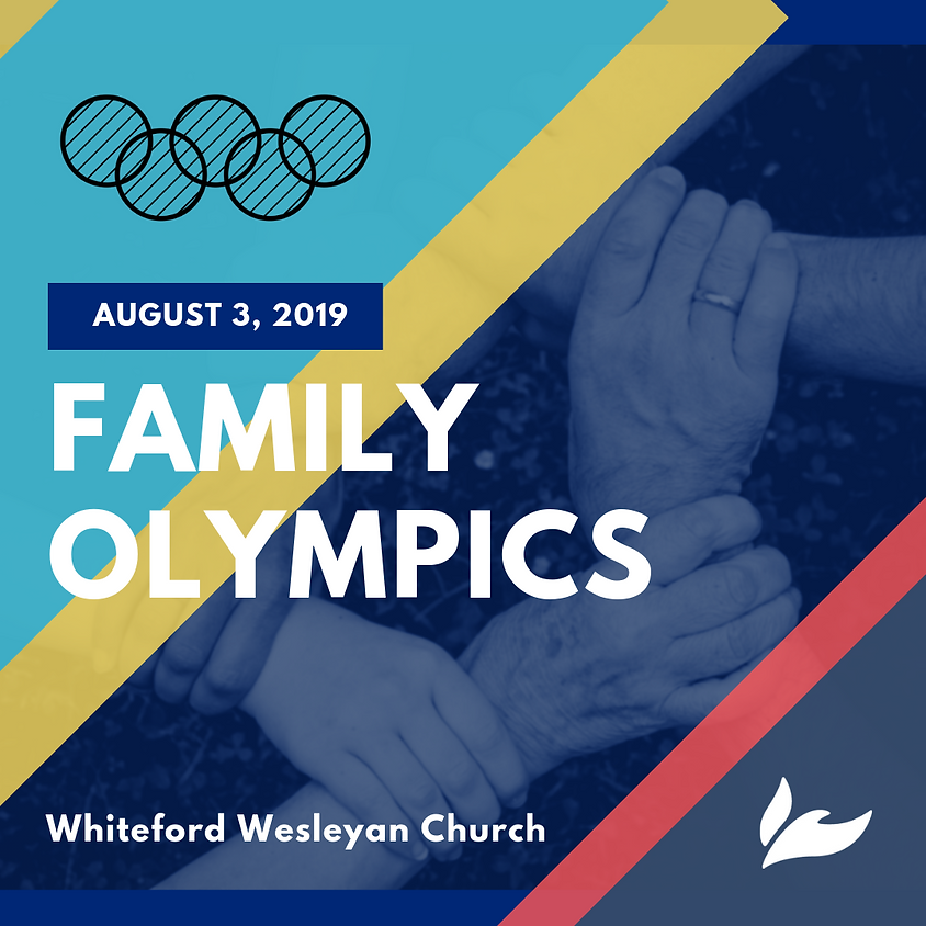 2nd Annual Family Olympics