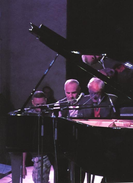 """""""Umbria Jazz Winter 2014 Storico concerto a sei mani con Danilo Rea e Dave Crawford"""""""