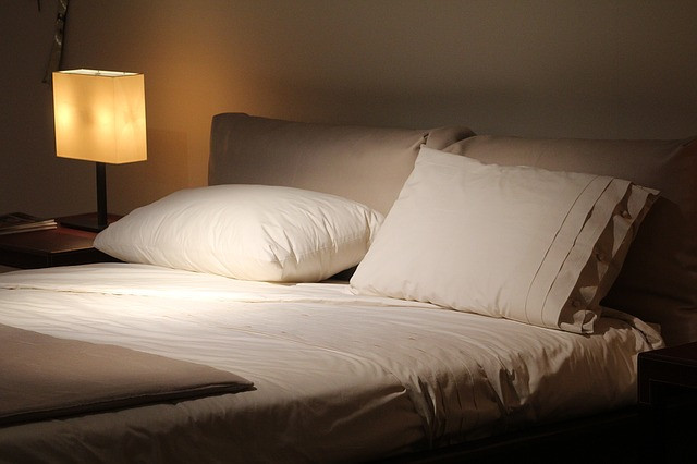 寝室の照明演出