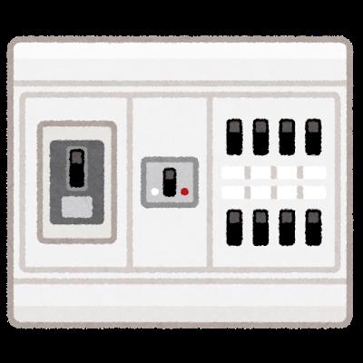 ブレーカーが落ちる、電気が消える、切れるときの対処方法