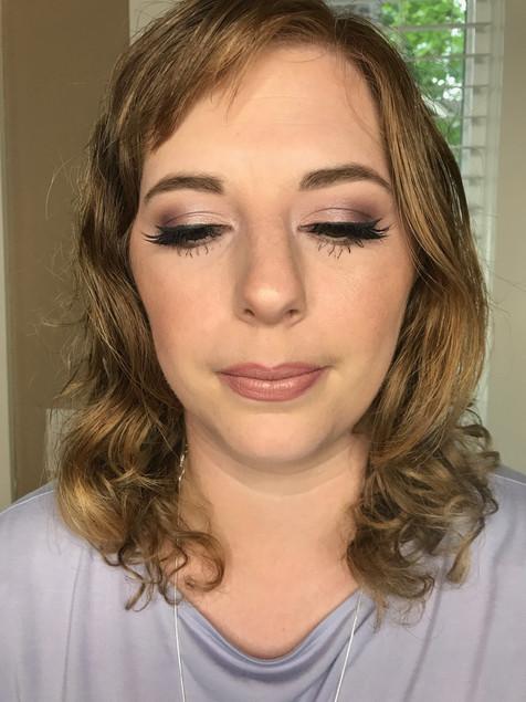 Bridal Makeup trial. Portland, Oregon 2019.