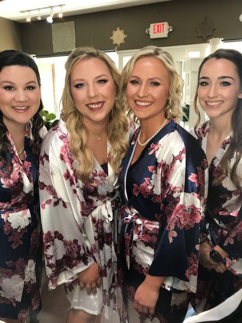 Bridal Party. Portland, Oregon 2018.