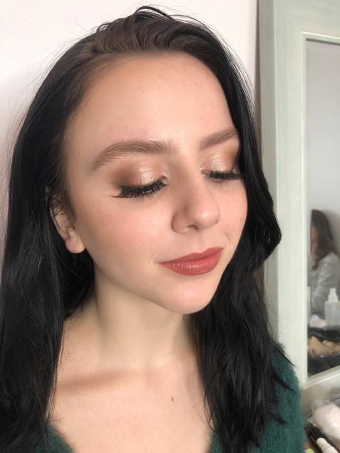 Bridal Party makeup. Portland, Oregon 2019.