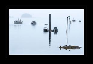 """Where the Sea Meets the Sky"" by John Grusd"