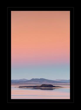 """Wildfire Smoke over Mono Lake"" by John Grusd"