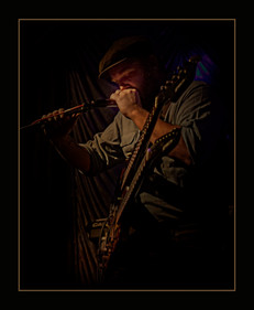 """""""The Blues Player"""" by Onnie Hull"""