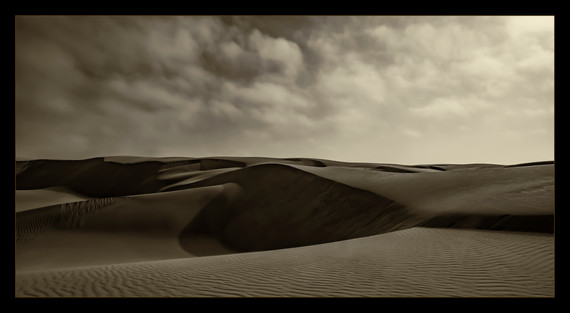 """""""Nature's Sand Box"""" by Mel Carll"""