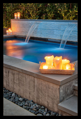 """""""Candlelight Spa"""" by Mel Carll"""