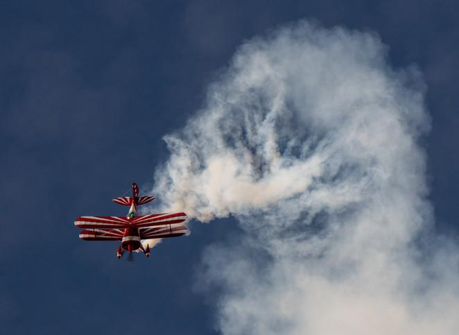 """Aerobatic Biplane"" by Roy Patience"