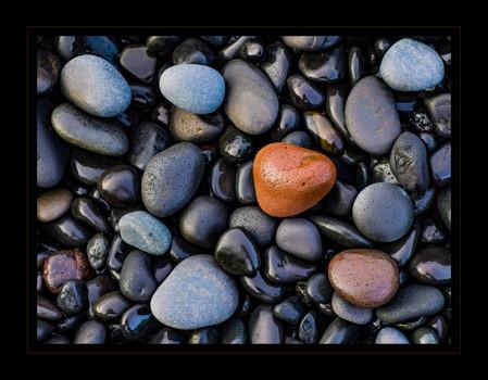 """Iceland's Black Pebble Beach"" by Bobby Tan"
