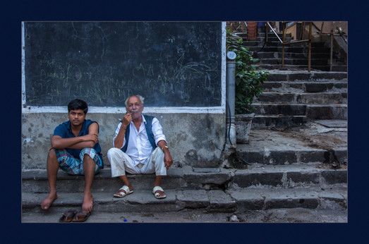 """Mumbai Smoke Break"" by Kevin High"