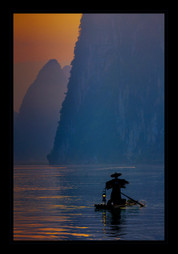 """""""Sunrise in Guilin"""" by Bobby Tan"""