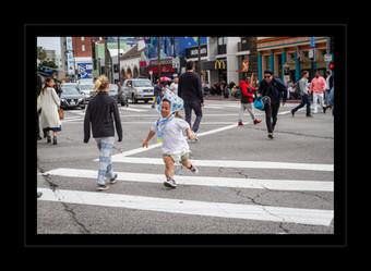 """""""Crosswalk Chase"""" by Nikki Washburn"""